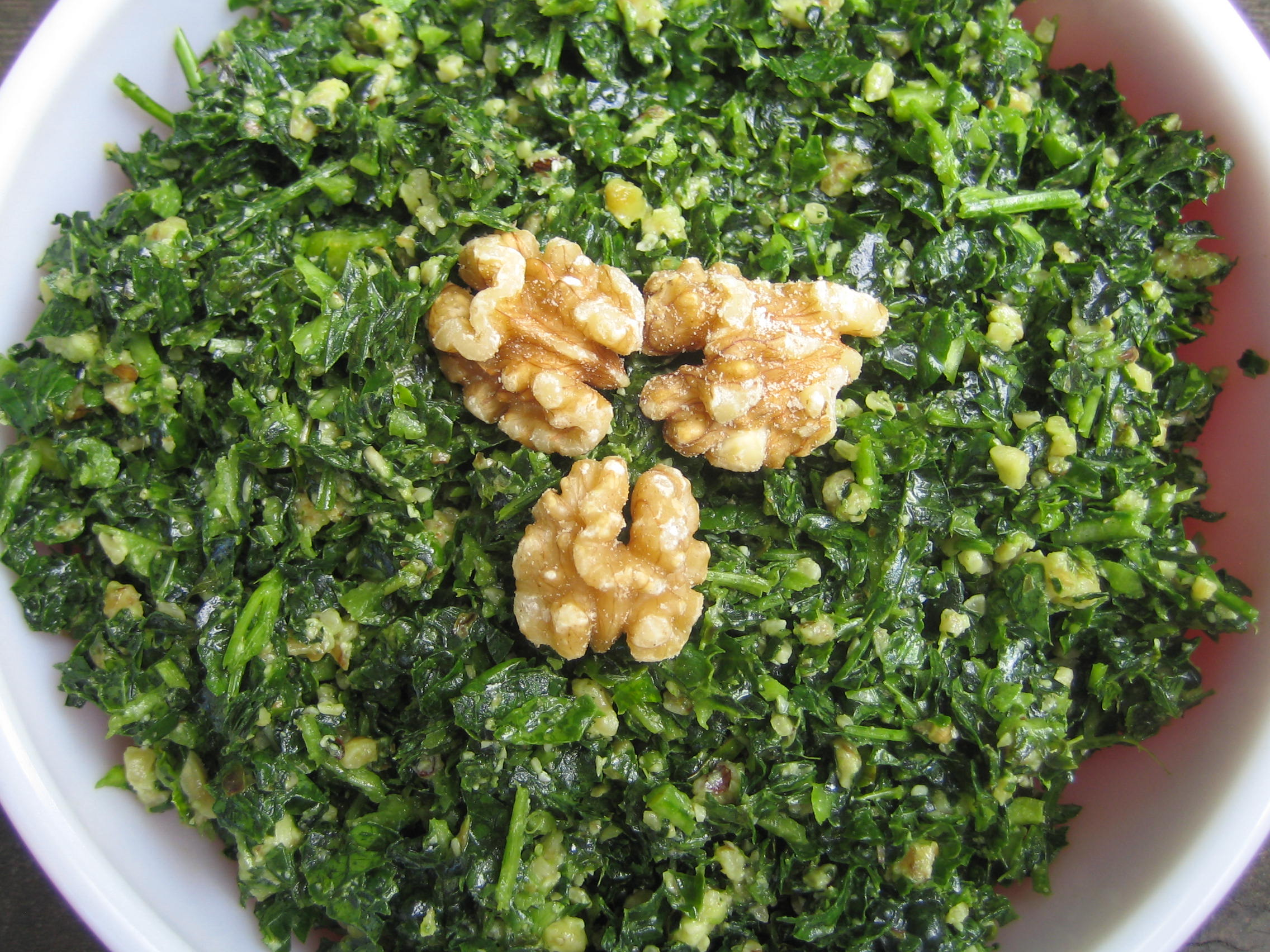 Kale and Herb Salad