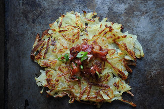 Horseradish Hash Browns