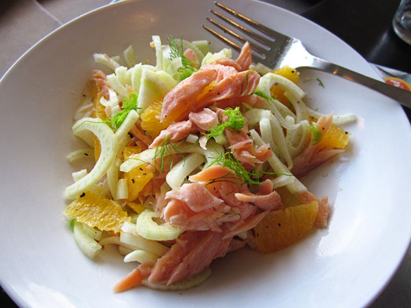 Fennel &amp; Orange Salad with Smoked Trout