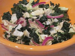 Black Kale Slaw
