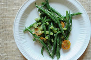 Haricots Verts  la Dijonnaise