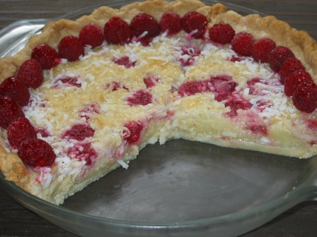 ... custard pie coconut custard pie raspberry coconut custard pie recipe