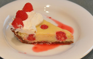  Raspberry Key Lime Pie