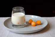 White Gazpacho with Cantaloupe