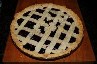 Nanny's Blackberry Pie