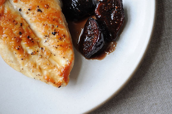 Chicken with Figs, Wine &amp; Honey