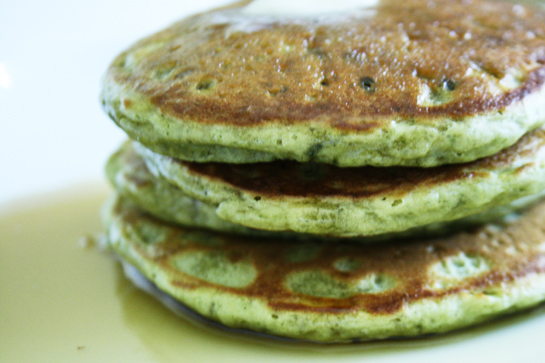 Matcha Pancakes