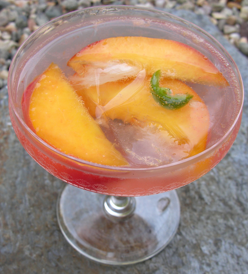 Peachy Cooler