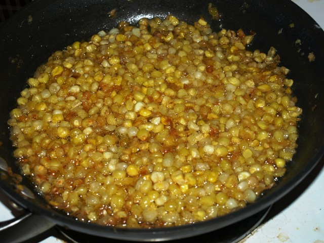Chipotle Corn With Bacon
