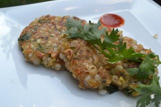 Corn &amp; Sago croquettes