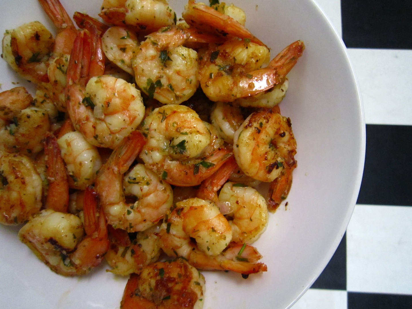 Tarragon-Grapefruit Shrimp, with apologies to mrslarkin