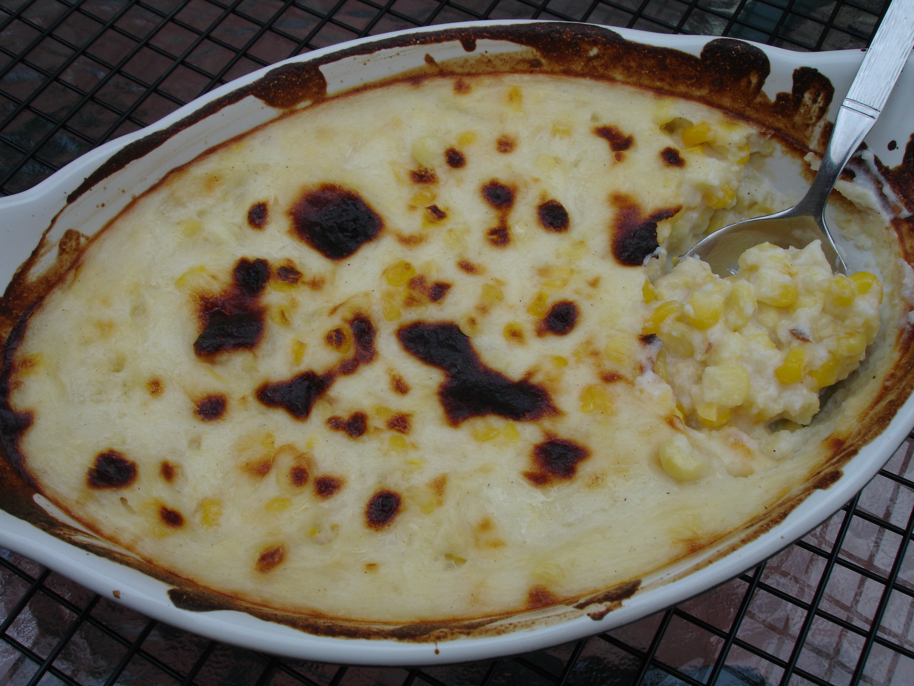 Corn Au Gratin