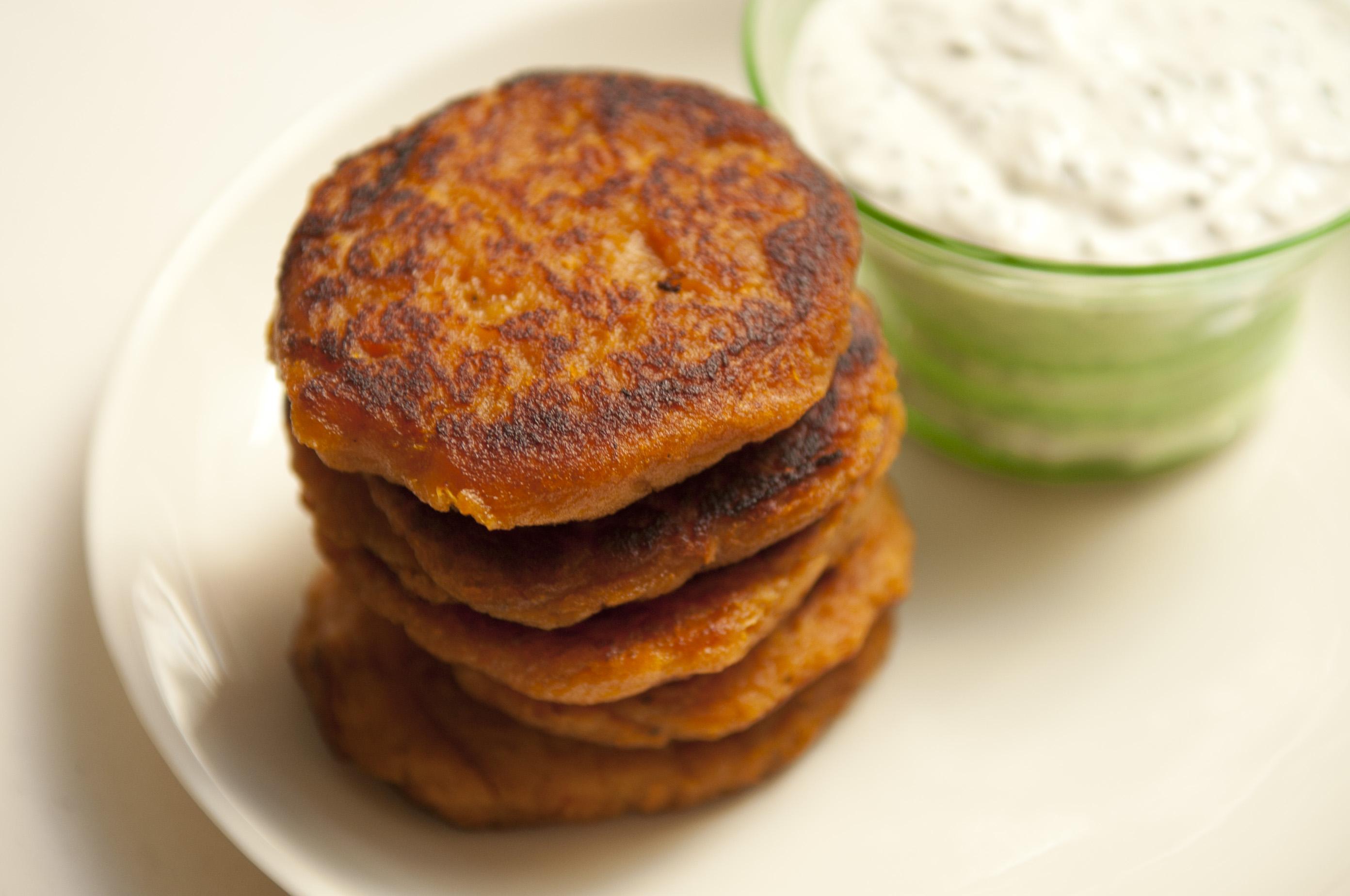 Orna & Ella's Sweet Potato Pancakes Recipe on Food52