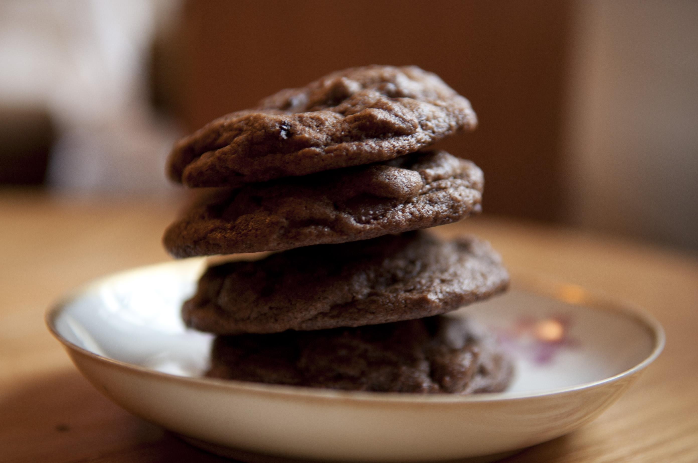 Double Chocolate Espresso Cookies Recipes — Dishmaps