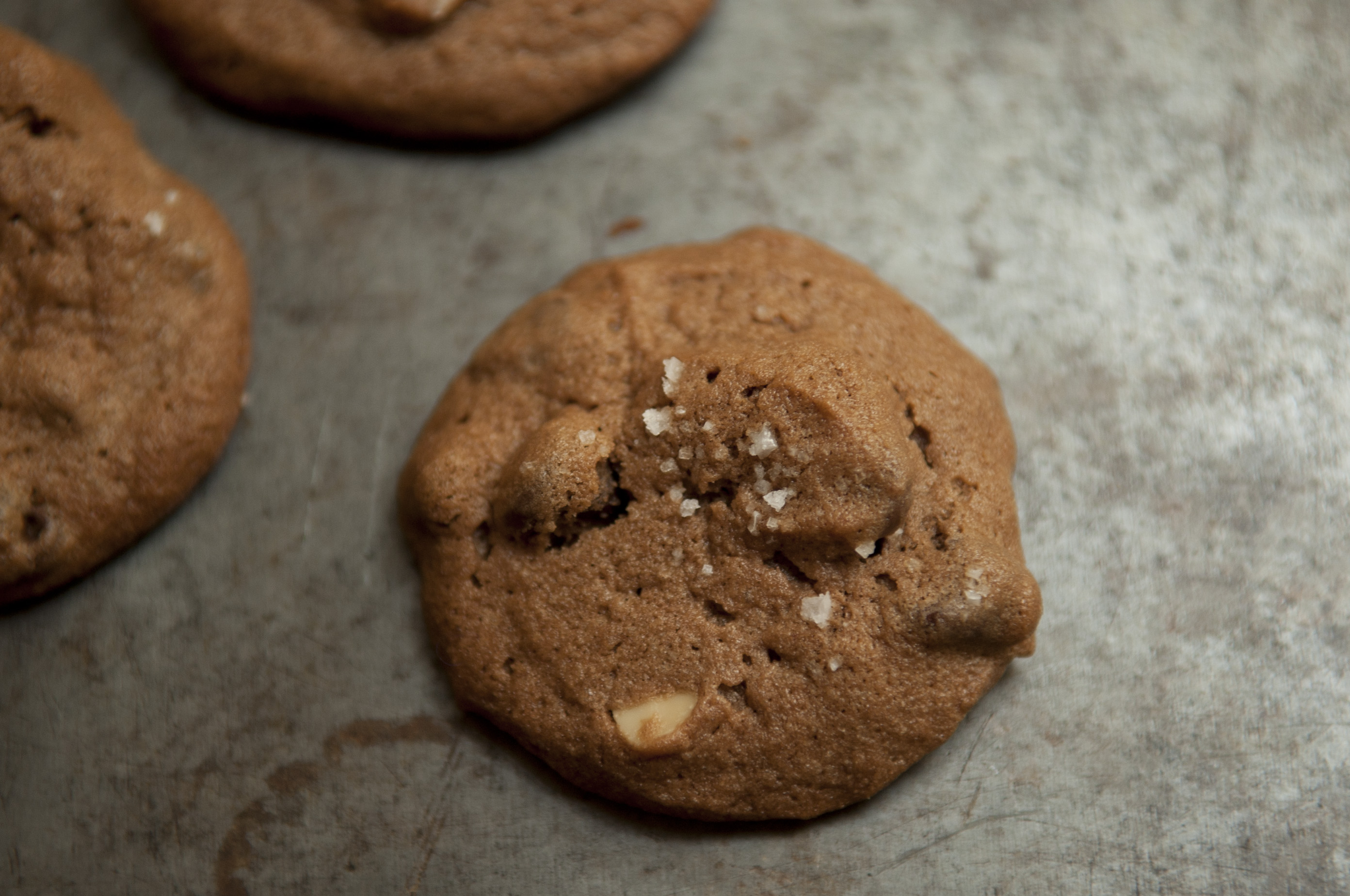 Salted Double Chocolate Peanut Butter Cookies Recipe on Food52