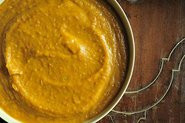 Roasted Butternut Squash Coconut Curry Puree/Soup