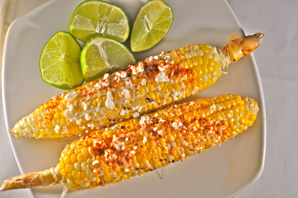 Grilled Mexican Corn (Elote Loco)