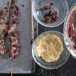 Chocolate_covered_bacon_with_cherries_and_marcona_almonds