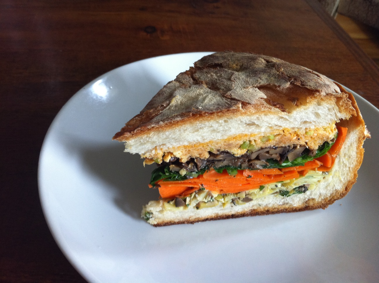 Vegetable Muffuletta