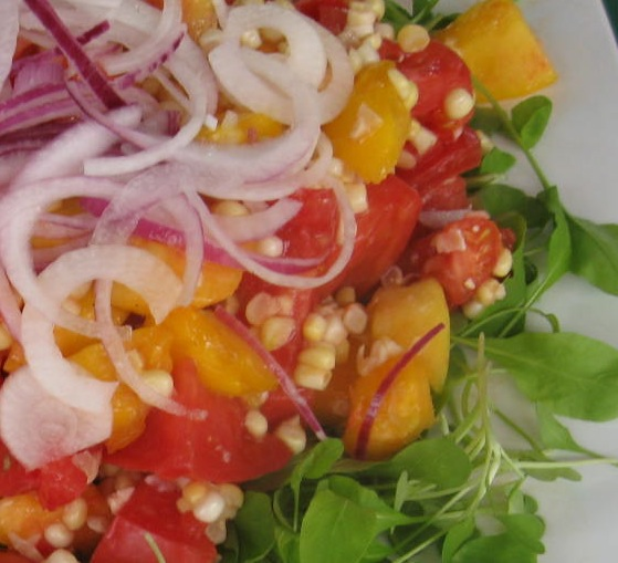 ... corn salad with marjoram corn tomato and lobster salad fresh corn and