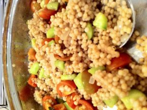 Garden Fresh Israeli Couscous