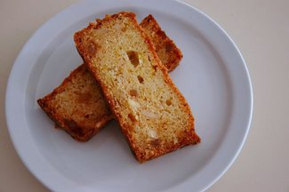 Ginger Almond Summer Squash Bread