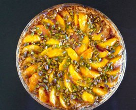 Petaluma Peach Tart