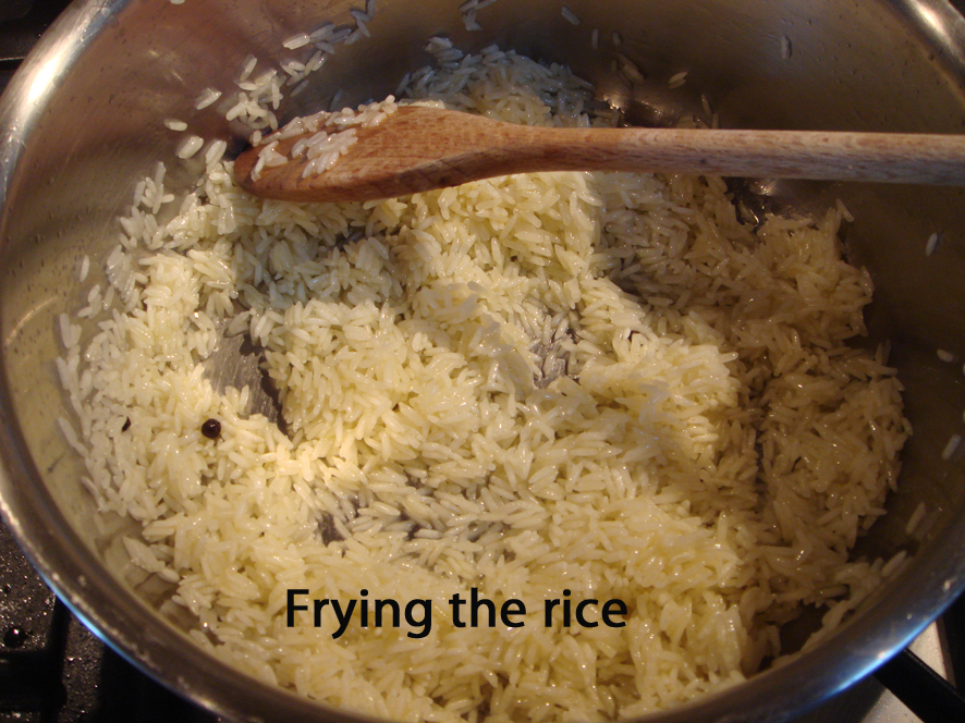 Never, Ever an Insipid Rice Again - Basic Fried Rice that Everyone Should Know
