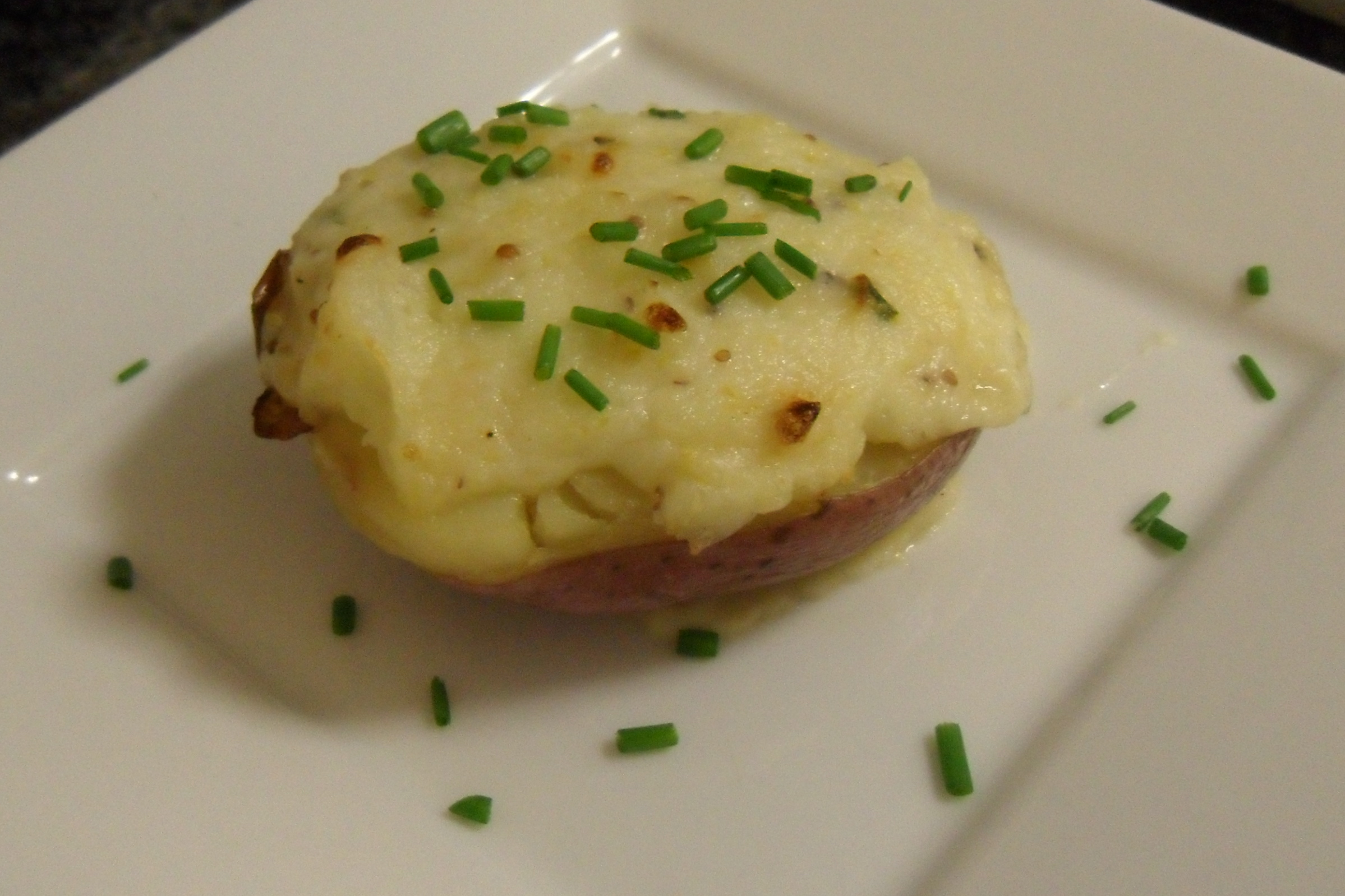 Truffle Twice Baked Potaoes