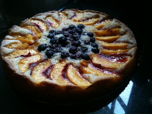Peach_torte