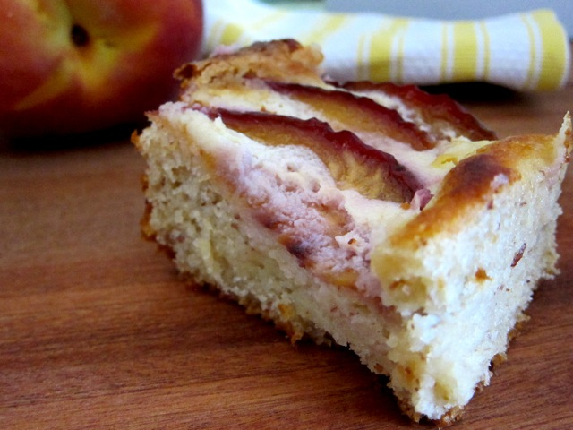 Brioche Peach Cake