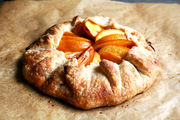 Peach-frangipane-galette