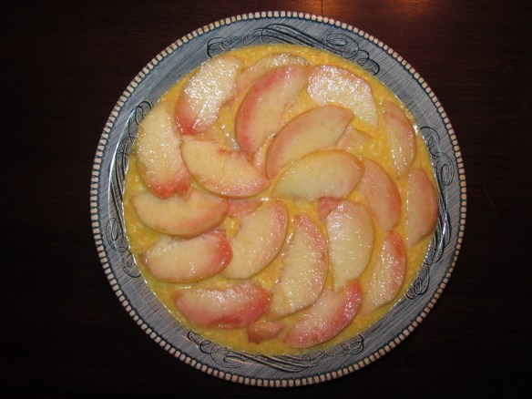 Peaches &#x27;n&#x27; Cream Pie