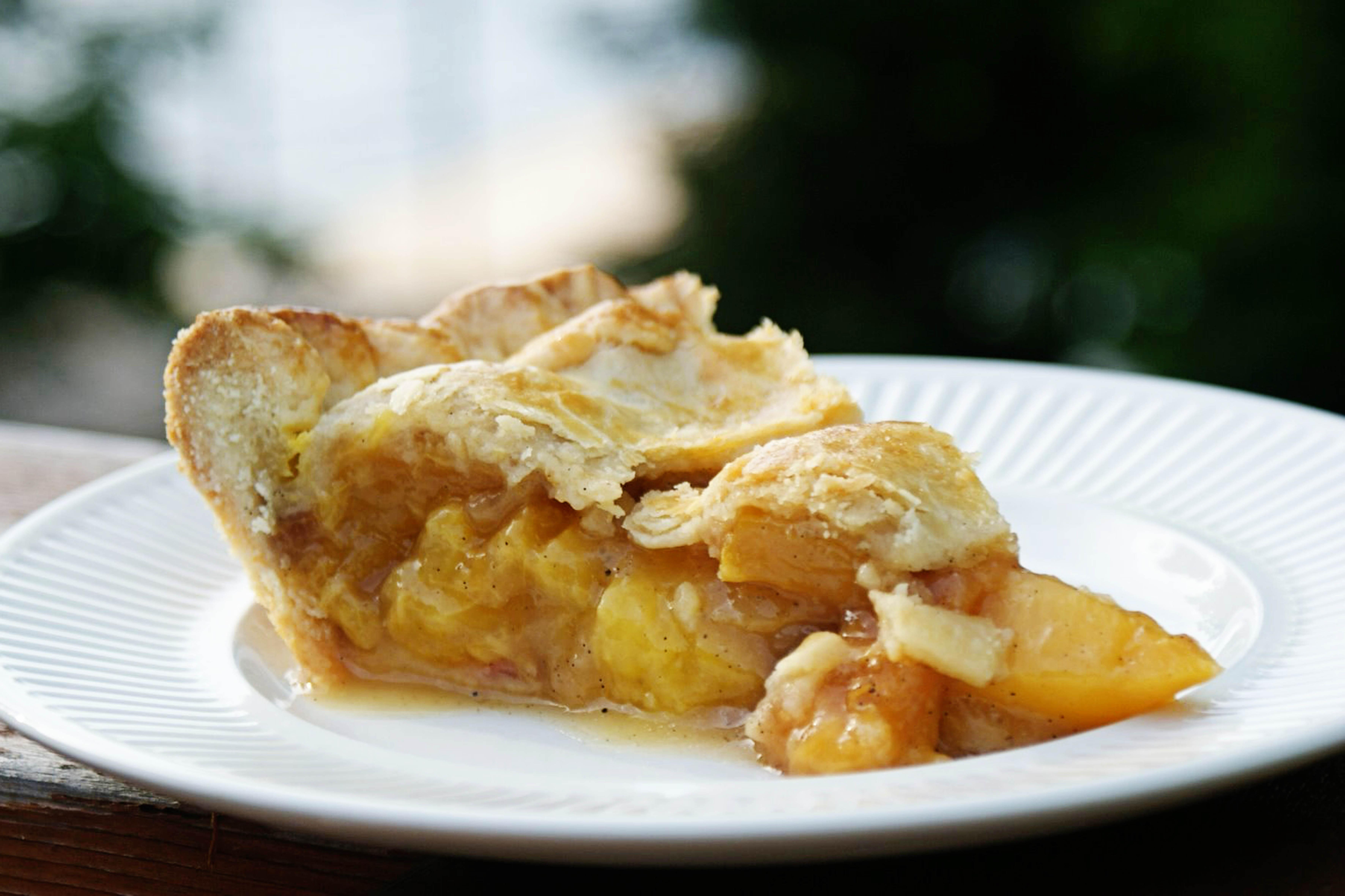 Vanilla Bean Cardamom Peach Pie Recipe on Food52