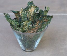 Parmesan-kale-chips