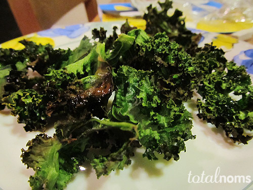 Lemony Kale Chips