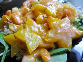 Shrimp & Starfruit Stir-Fry