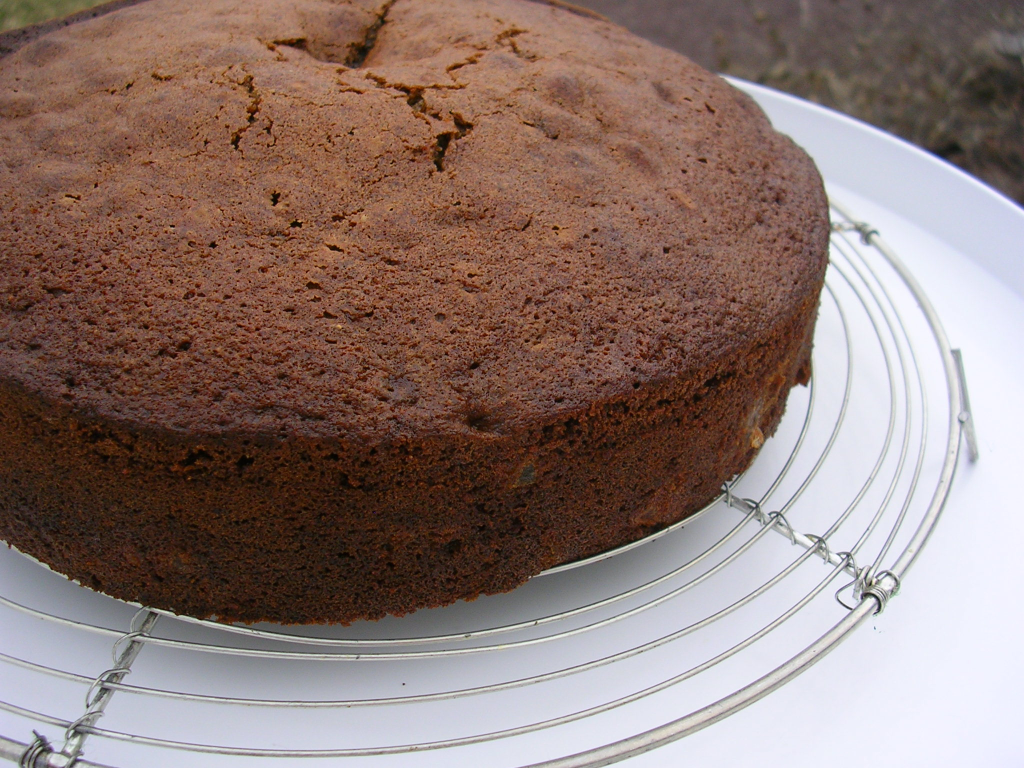 Spiced Chocolate Pear Cake