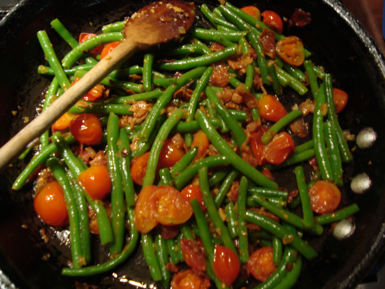 how to cook haricot vert