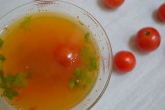 Cherry Tomato Rasam