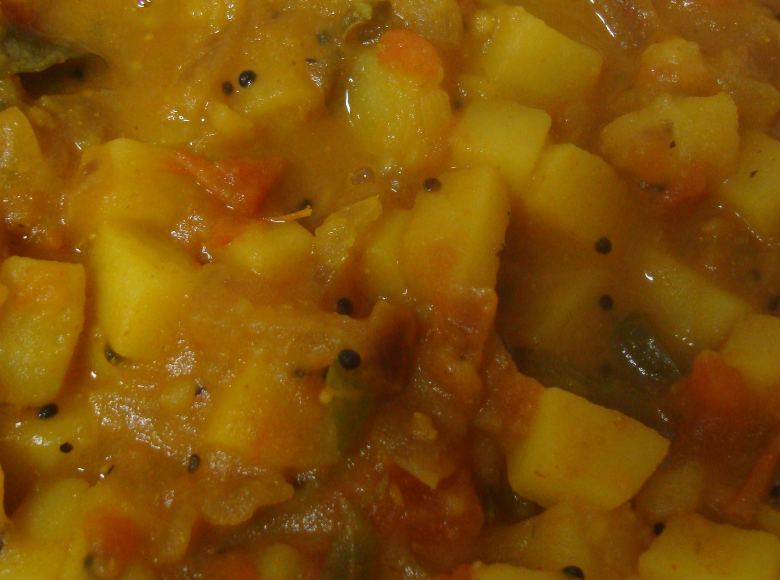 Potato Curry(homestyle)