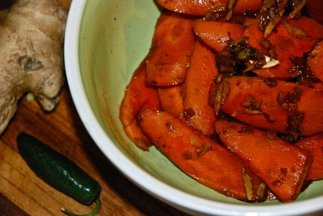 Spiced Carrots for Autumn