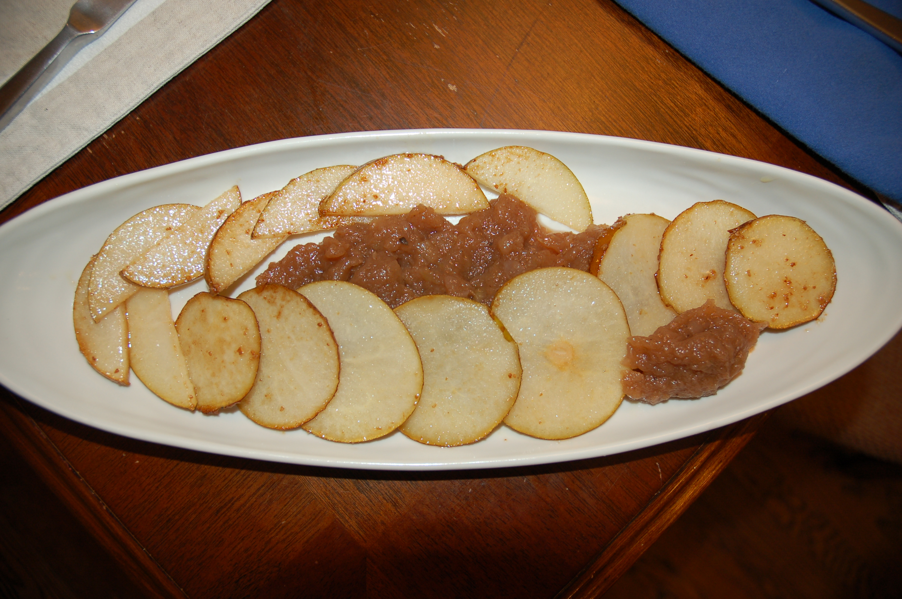 Caramelized Asian Pears