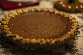 Perfected Pumpkin Pie