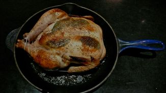 SAGE HONEY BRINED ROAST CHICKEN