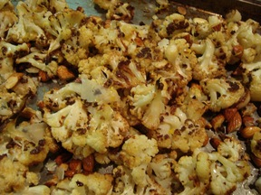 Cauliflower Roast with a Nod to Ina