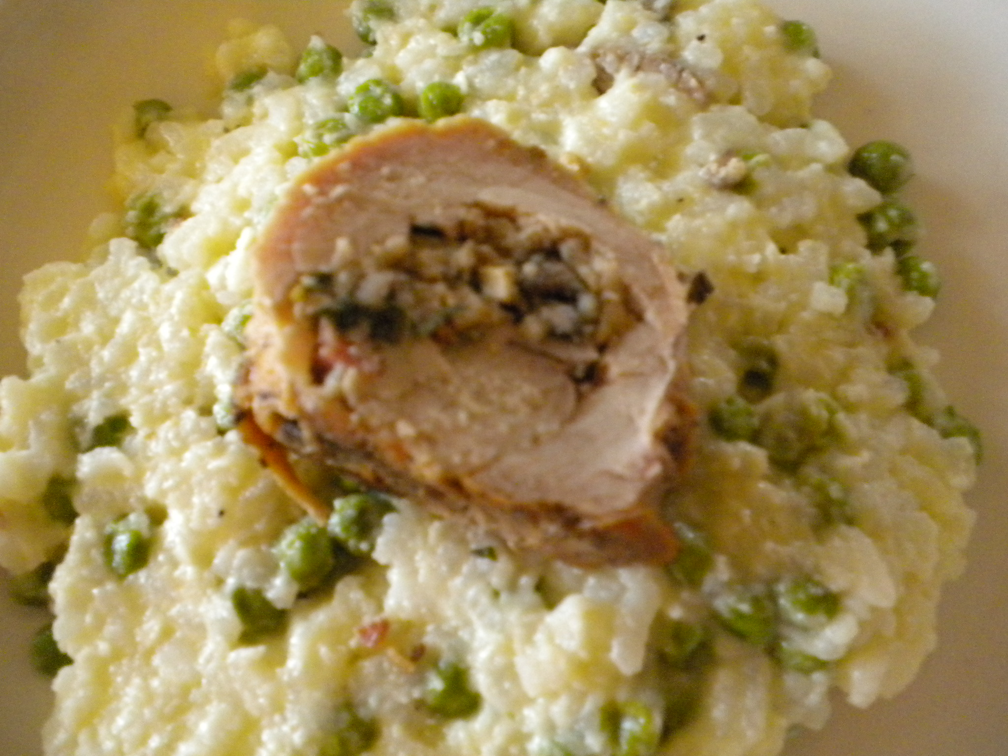 Pancetta and Mushroom Stuffed Pork Tenderloin