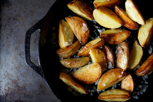 Greek Mahogany Potatoes on Food52
