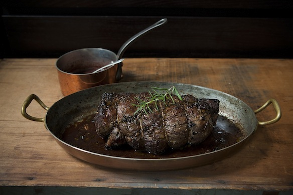 Procini and Rosemary Crusted Beef Tenderloin on Food52