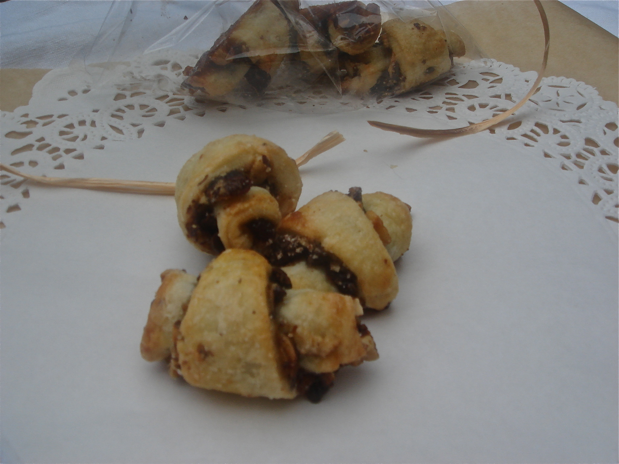 Chocolate Hazelnut Rugelach